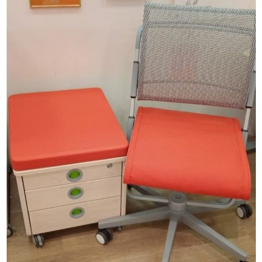 Подушка-сиденье Scooter + Pad на тумбу Classic Оранжевый
