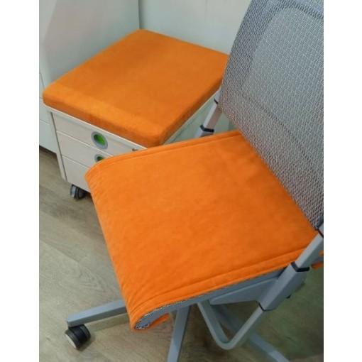 Подушка-сиденье Scooter + Pad на тумбу UNI оранжевый